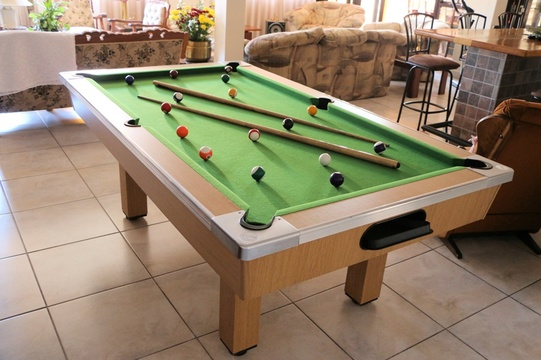Guest Pool Table