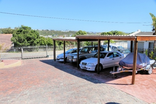 Secure Undercover Parking, Palisade Fence and Remote Controlled Gate