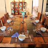 Anchorage Guest House - Main Dining Area, Table with Cutlery